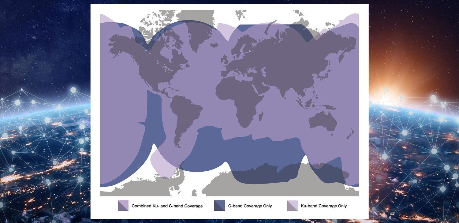 Expanded VSAT Coverage
